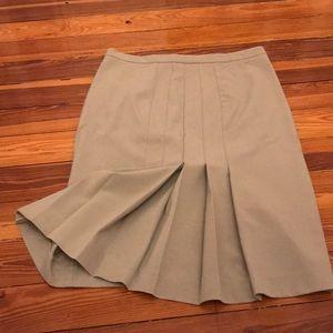Victoria's Secret  tan pleated skirt
